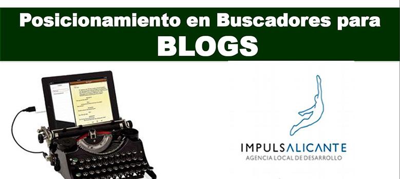 Posicionamiento en buscadores para blogs.