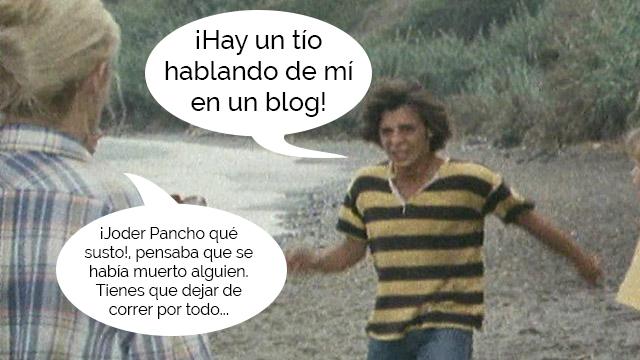 Imagen de Pancho de la serie Verano Azul.